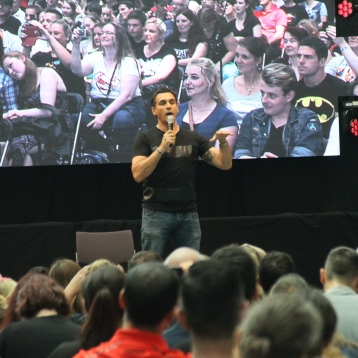 Adrian Paul at the ComicCon Germany