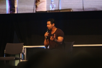Jon Huertas at the ComicCon Germany in Stuttgart