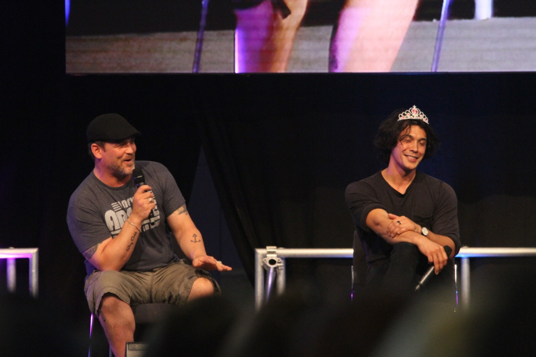 Ty Olsson and Bob Morley